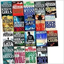 Alex Cross Series Collection James Patterson 20 Books Set (Sail, Beach  Road, Black Market, Jack and Jill, Kiss the Girls, Along Came a Spider,  Cross, Hide and Seek, Pop Goes The Weasel,