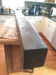 how to build a box beam mantel with