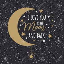i love you to the moon and back st valentines day inspirational