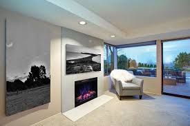 how to install an electric fireplace in