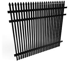 3 Rail Tight Picket Spear Top Style Aluminum Fence Panel Fws