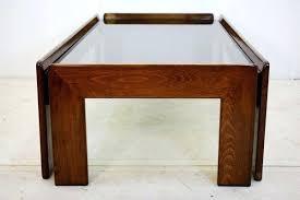 coffee table wood glass heattreaters co