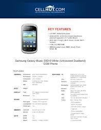 Samsung Galaxy Music S6010 White ...
