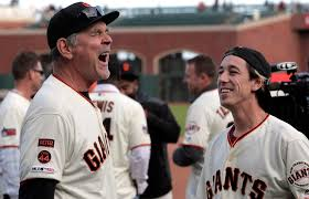 Four years later, Tim Lincecum returns to the Giants to honor Bruce Bochy -  SFChronicle.com
