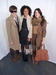 Fashion Week Snapshot: Andrew Bevan, Shiona Turini and Sheena Smith at BCBG  | Teen Vogue