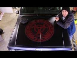 How To Install A Large Vinyl Decal Or Hood Sticker Applical Com Youtube