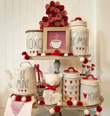 Pin by Adriana Olson on Rea dunn Valentín colección 2019 | Valentine  decorations