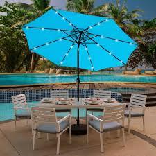 crank and tilt round solar light patio