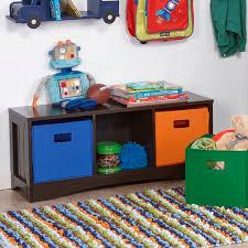 Zoomie Kids Pete Kids Toy Storage Bench Reviews Wayfair