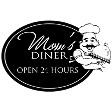 Shop Mom S Diner Open 24 Kitchen Decor Vinyl Wall Decal Quote Sticker Inspiration 15 X 10 Wall Vinyl Overstock 17998771