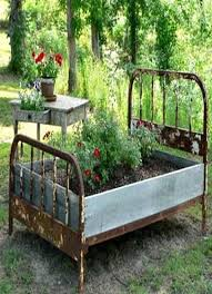 raised garden beds using recycled