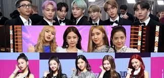 Découvrez le classement par réputation des groupes de K-Pop de ...