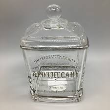 dr h gnaderdoff apothecary glass jar