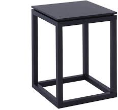small side table black wenge finish