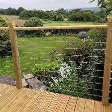 Cable Fence Systems Stainless Steel Fencing Balustrade