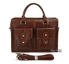 mens brown leather bag