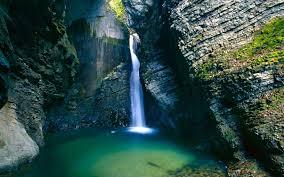 rocky waterfall wallpaper 6980649