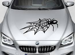 Large Spider Web Car Body Hood Bonnet Bumper Suv Vinyl Stiker Decal Car Suv Car Stickers