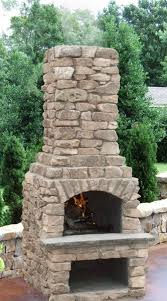 veranda outdoor fireplace kit