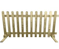 Ruby Portable Freestanding Treated Wooden 6ft Picket Fence Panel 3ft High 1 Amazon Co Uk Garden Outdoors