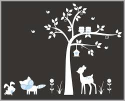 Forest Nursery Decals Woodland Creatures Nature Wall Stickers Translation Missing En General Meta Tagged Deer Nurserydecals4you
