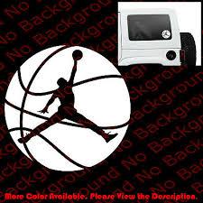 From Usa Jumpman Michael Jordan Car Window Laptop Vinyl Decal Die Cut Sp004