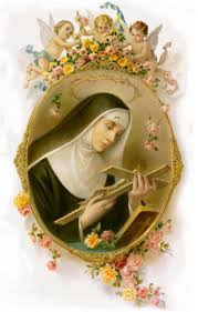 ST. RITA OF CASCIA, patroness of the impossible, pray for us ...
