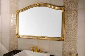 wall mounted lighted mirror battery