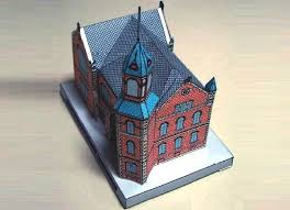 Byron Stone-Clarke Memorial Room Paper Model - by Doshisha A little  architectural paper model of a real building, the Byro… | Paper models,  Paper, Paper toys
