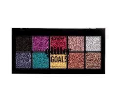 nyx cosmetics glitter goals cream