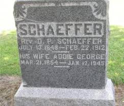Addie George Schaeffer (1854-1945) - Find A Grave Memorial
