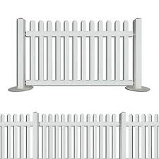 White Picket Fence Portable Fencing Event Restaurant Cafe Barrier Wholesale Ebay