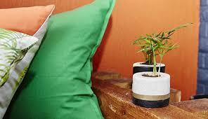 how to make a concrete planter