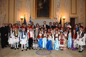 PANELIAKOS, Boston USA: RAPTAKIS AND MYRNA GEORGE HOST ANNUAL CELEBRATION  OF 190th ANNIVERSARY OF GREEK INDEPENDENCE DAY AT RHODE ISLAND STATE HOUSE