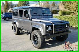 land rover defender 110 sel 4x4