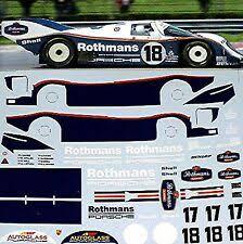 Brun Porsche 956 962 Gaggia Decal 1 24 Monza 1987 for sale online | eBay