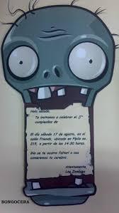 Felicitacion De Cumpleanos Zombie