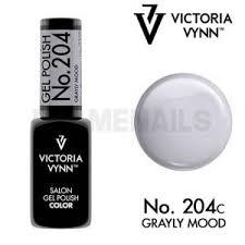 gel polish n 204 grayly mood