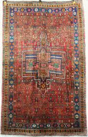 hand knotted iranian carpet