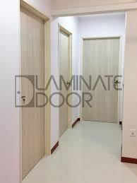 solid laminate bedroom door