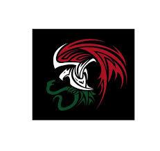 Mexican Eagle Aguila Tribal Decal Car Window Laptop Vinyl Etsy