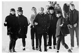 The Beatles, Richard Lester & Crew on the set of Help!, Austria, 1965  (Ref.#B20)