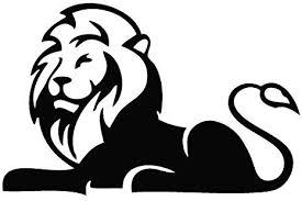 Amazon Com Lion Sit Post Animal Decal Vinyl Car Wall Laptop Cellphone Sticker Everything Else