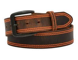 western fashion fl leather belt