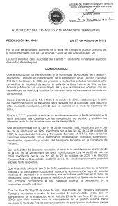 Gaceta Oficial Digital, viernes 11 de noviembre de 2011