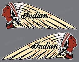 Indian Decal Etsy