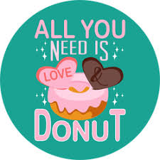 Cute Donut Vinyl Stickers Decals Car Stickers