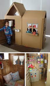ment construire une cabane en carton