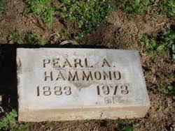 Pearl Adriana Parker Hammond (1883-1978) - Find A Grave Memorial