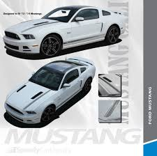 Cali Gt Cs 2013 2014 Ford Mustang California Special Style Hood And Rocker Panel Stripes Vinyl Graphic Decals Kit Speedycardecals Fast Car Decals Auto Decals Auto Stripes Vehicle Specific Graphics